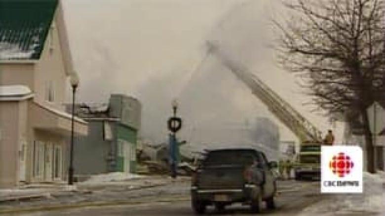 Foyer Jacinthe Grand Falls Nb : Grand falls reeling after fire destroys buildings cbc news
