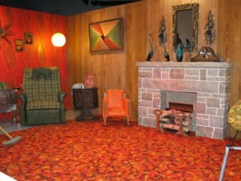 Museum Celebrates 70s With Display Of Shag Rugs And Wood