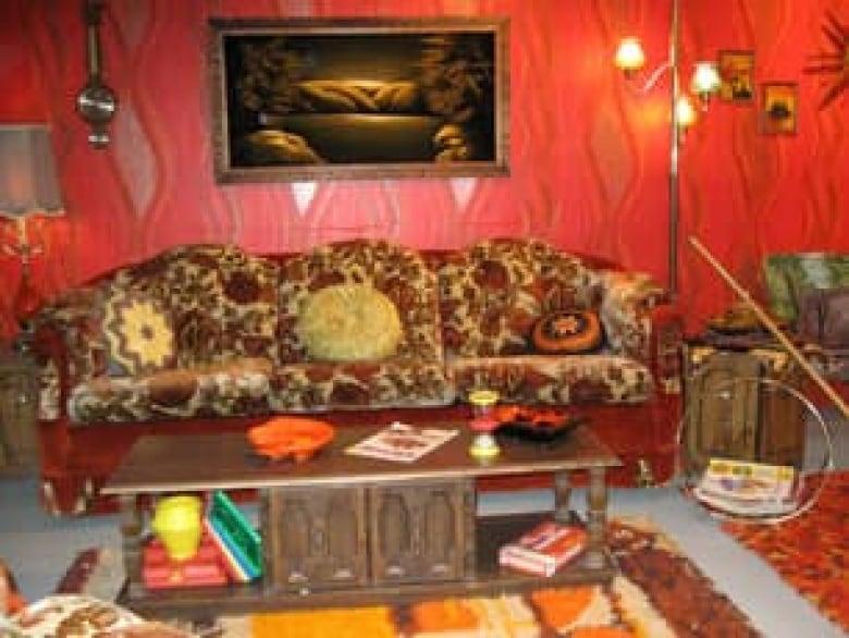 Orange Carpet Bedroom
