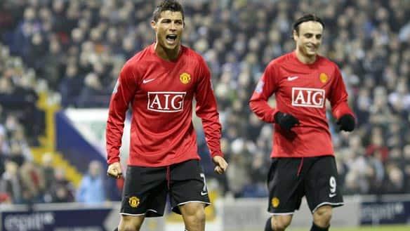 Sports Memorabilia Photographs Cristiano Ronaldo Manchester