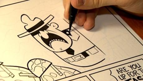 Summerside exhibit puts spotlight on comic book art thumbnail