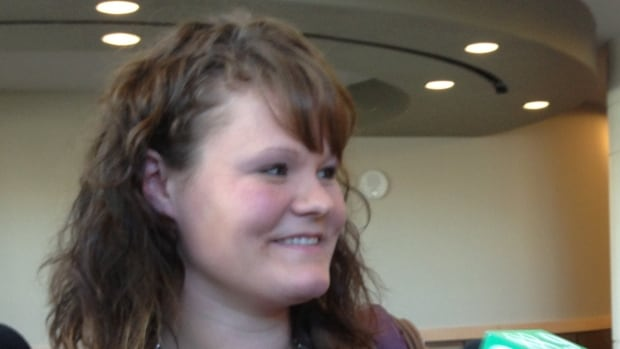 Caleigh Shea was all smiles after being found not guilty of child abandonment Wednesday.