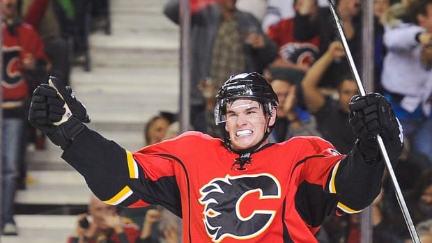Rookie forward Sean Monahan will stay with the Flames for the season rather than be sent back to junior. The centre has been given a heavy workload at even strength and on the power play by coach Bob Hartley.