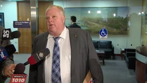Mayor Rob Ford ducks questions on reference letters