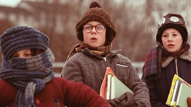 If you need to wrap up like Ralphie from a Christmas Story before heading outside today, here are some songs to cheer you up.