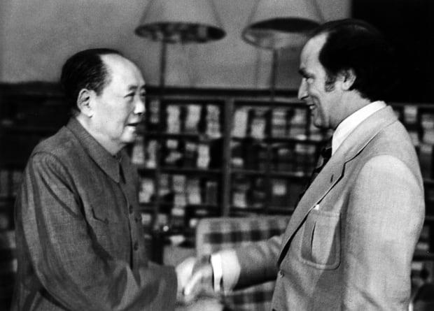 Pierre E. Trudeau Mao Tse-tung Canada China