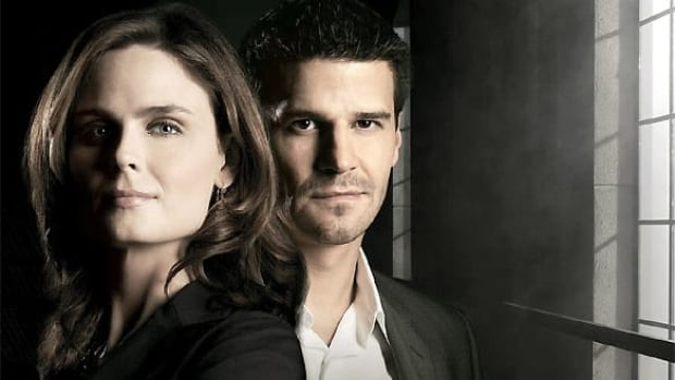 Emily Deschanel and David Boreanaz, stars of the hit TV series Bones. Next week's episode will feature shots of locations on the Avalon Peninsula.