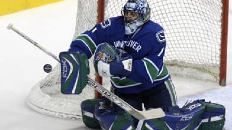Luongo Named Captain Canuck Cbc Sports