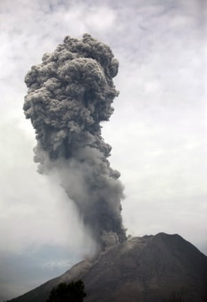Indonesia Volcano Eruption