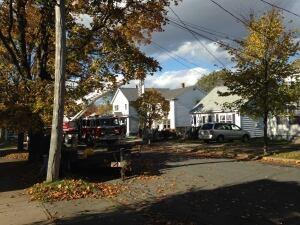 Acadia Street fire