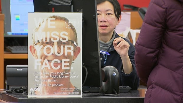 Vancouver Public Library hopes the initiative encourages people to come back to the library.