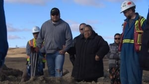 First Nations elders visit site of ancient remains