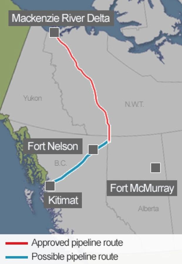 Map: MacKenzie Valley