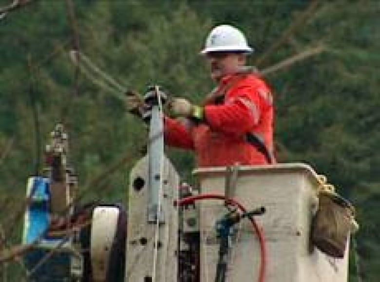 25,000 in B C  still without power after storm: BC Hydro
