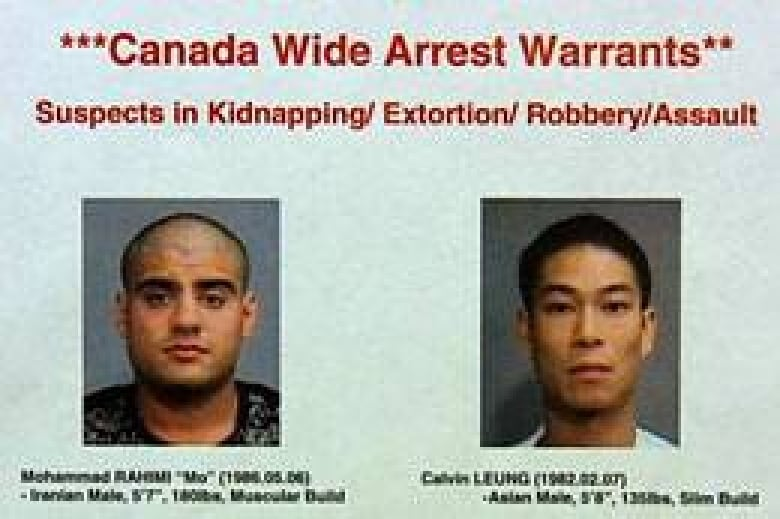 Warrants issued for 2 men in Vancouver kidnapping | CBC News
