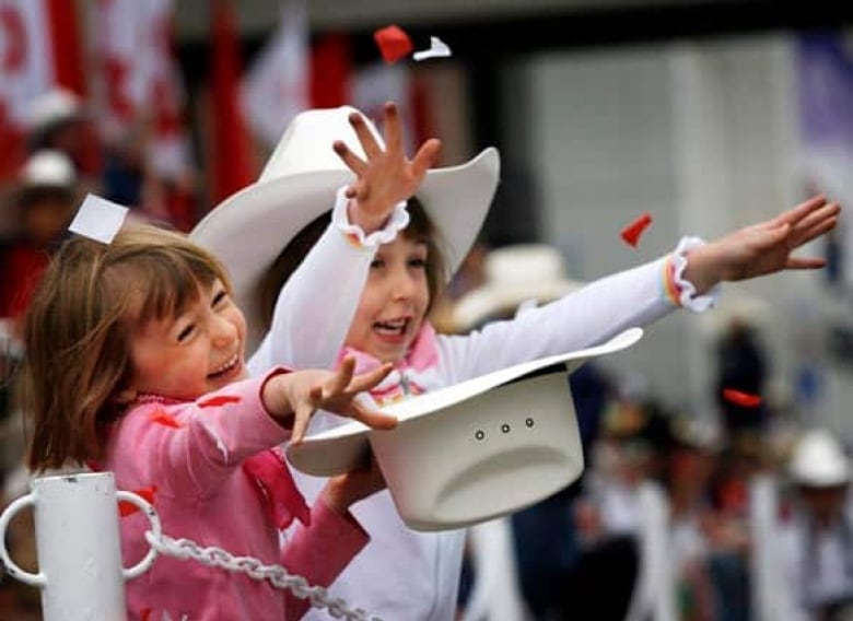 Thousands Came Out To Enjoy The Annual Calgary Stampede