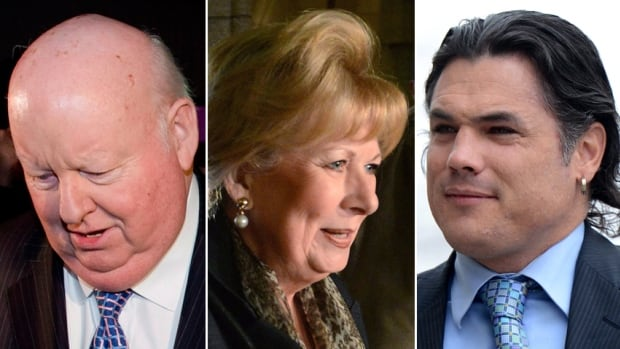 Senators Patrick Brazeau, Mike Duffy and Pamela Wallin were suspended without pay last November for the duration of the parliamentary sitting, which is expected to continue until 2015.