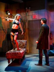 Allison Brennan & Matthew Edison in Venus in Fur