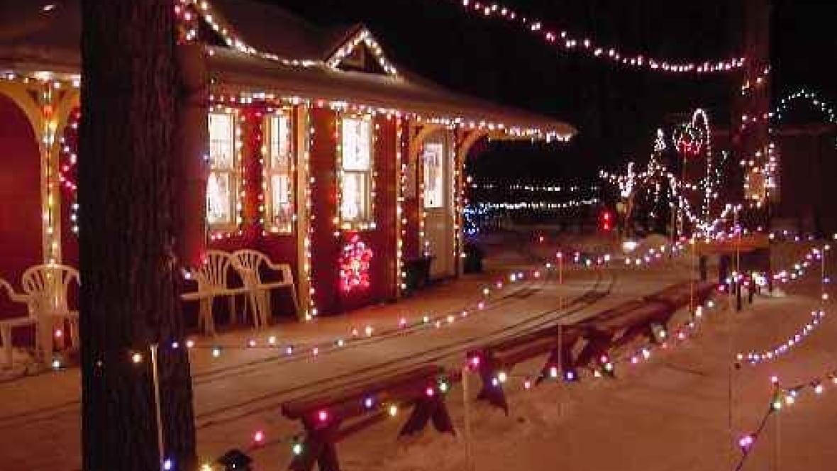 Winnipeg Christmas Train Ride Light Display Cancelled