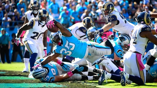 The St. Louis Rams and Carolina Panthers played a chippy game last Sunday, resulting in fines from the NFL.