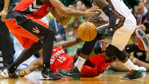 Officials had to call off Friday night's game between the Toronto Raptors and Milwaukee Bucks due to unsafe court conditions.