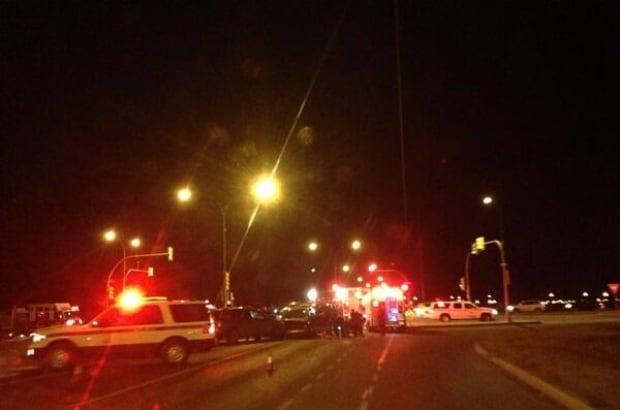 College Drive crash