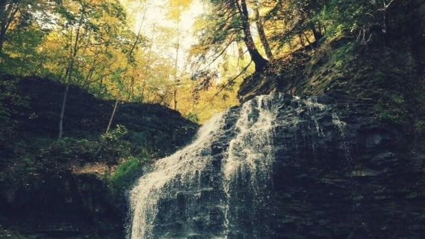 The winner of CBC Hamilton's fall photo contest! Nice work, Jordan Cumberland! Taken at Tiffany Falls, Hamilton, Ontario.