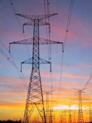 powerline-sunset