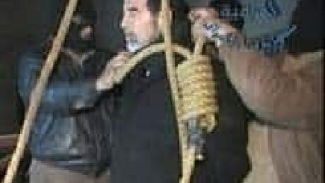 Image result for Saddam Hussein hanging