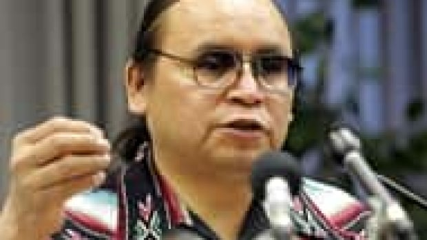 """""""We are a country who hasn't been attacked,"""" says Grand Chief Terrance Nelson, who leads the Southern Chiefs Organization. He says Bill C-51 is dangerous."""