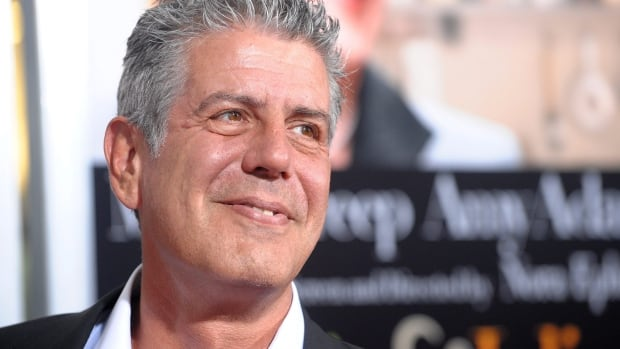 Author, chef and TV host Anthony Bourdain, seen in a 2009 photo, has long been known for his outspoken views. His Twitter feed has been urging chefs not to back a seal boycott campaign by the Humane Society of the United States.