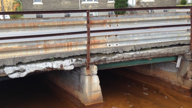 The Finland Creek bridge on Balsam St. in Copper Cliff was built in 1930. The 2012 inspection report called for its replacement at a cost of $660,000 by 2013. It also recommends the bridge have a load posting of 20 tonnes. This bridge is not listed in the City of Greater Sudbury's budget outlook for 2013 or 2014.