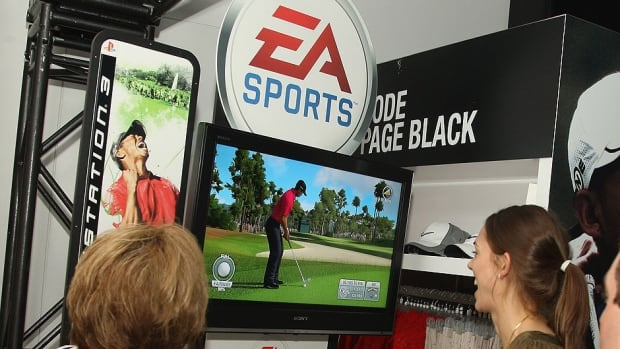 EA Sports' popular golf game has been named for Tiger Woods since