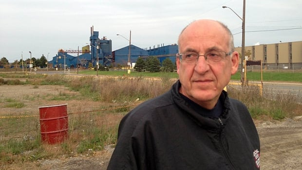 Rolf Gerstenberger, head of United Steelworkers Local 1005, fears for the future of the 8,000 pensions under U.S. Steel after the company's announcement that it would permanently halt iron and steel making at Hamilton Works.