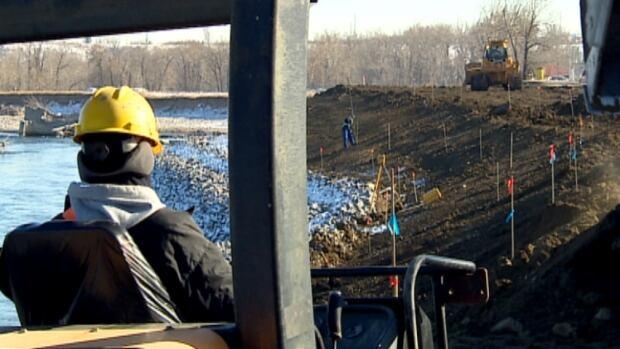 Riverbank stabilizing