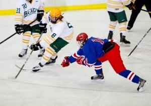Girl on Boy's Hockey Team