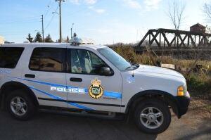 CN Police vehicle