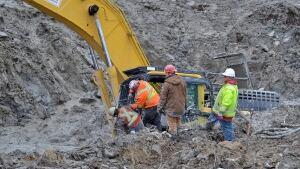 Sinking excavator
