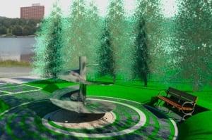 nl artist's rendering helicopter memorial 20131030