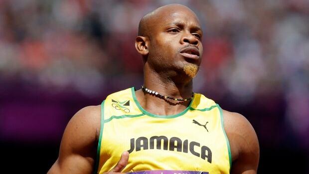 Jamaica's Asafa Powell tested positive for the stimulant oxilofrone.
