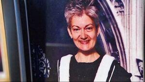 Framed photo of Sylvia Klibingaitis