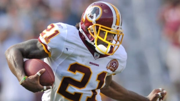 Former Washington Redskins safety Sean Taylor, shown here in 2007, died Nov. 26, of the same year, after being shot.