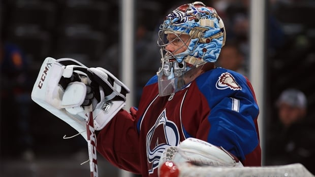 Goalie Semyon Varlamov  is 7-1 in the games he has started with the Colorado Avalanche this season.