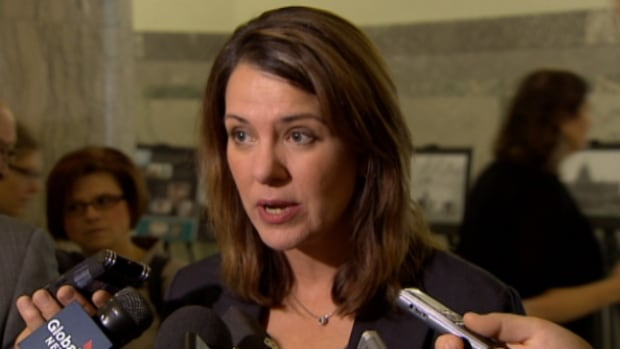 Wildrose leader Danielle Smith says Alberta mayors are furious about the proposed Bill 28.