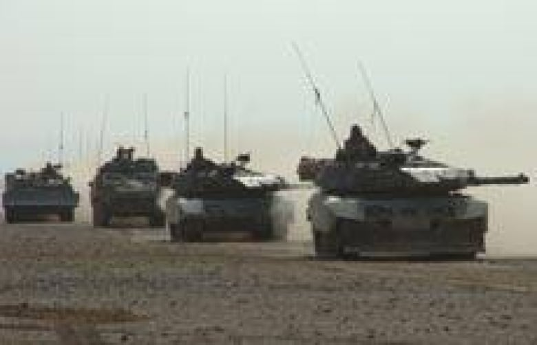 Canadian Forces to refresh aging fleet of tanks | CBC News