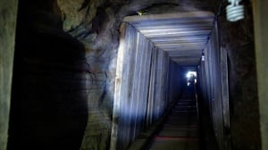 Dozens of tunnels, like this one discovered in 2011, have been found in recent years along the U.S.-Mexico border, primarily to smuggle marijuana to the States.
