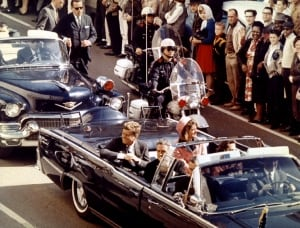 The motorcade