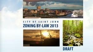 Saint John zoning bylaw draft document