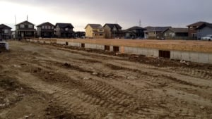 Condo foundation in Evergreen