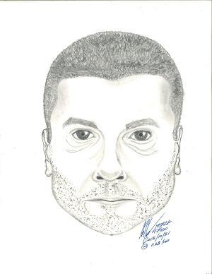 Surrey RCMP composite suspicious male